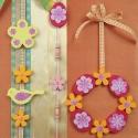 Tavaszi dekoráció dekorhab formákból